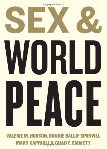 Sex and World Peace   2012 9780231131827 Front Cover