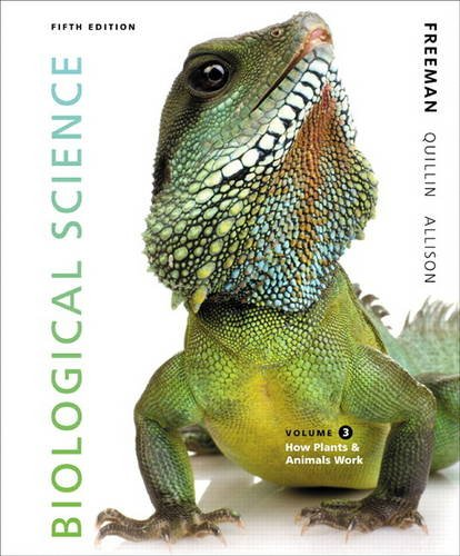 Biological Science Volume 3  5th 2014 edition cover