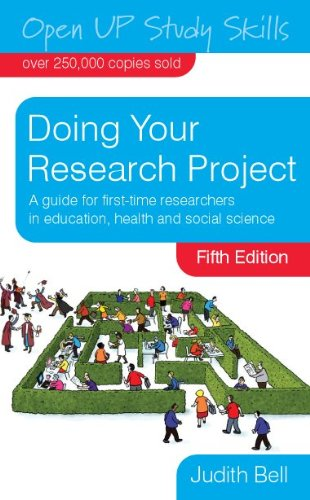 Doing Your Research Project  5th 2010 edition cover