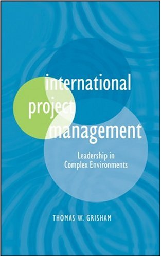 International Project Management Leadership in Complex Environments  2010 edition cover