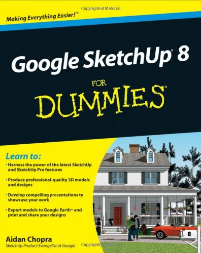 Google Sketchup 8 for Dummies   2010 edition cover