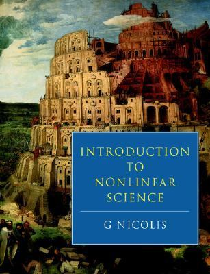 Introduction to Nonlinear Science   1995 9780521467827 Front Cover