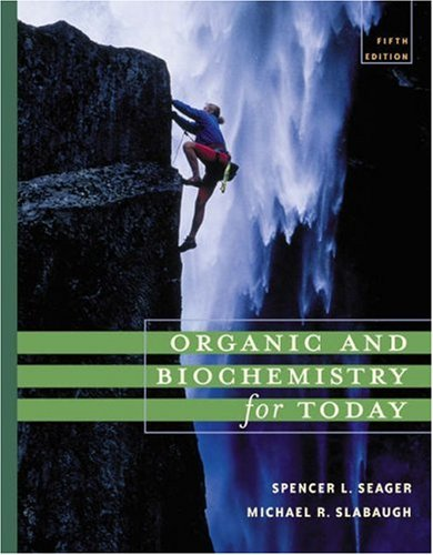 Organic and Biochemistry for Today  5th 2005 (Revised) edition cover