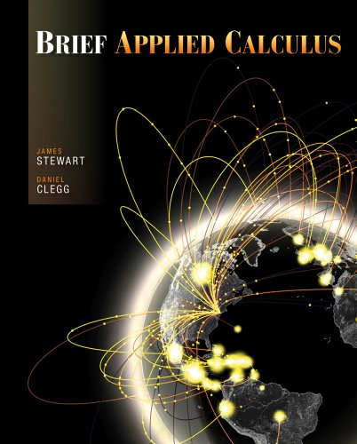 Applied Calculus   2012 edition cover