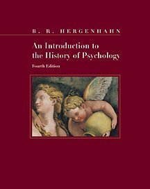 Introduction to the History of Psychology  4th 2001 edition cover