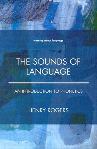 Sounds of Language An Introduction to Phonetics  2000 edition cover