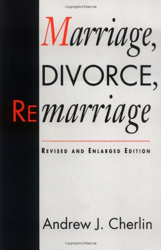 Marriage, Divorce, Remarriage  2nd 1992 edition cover