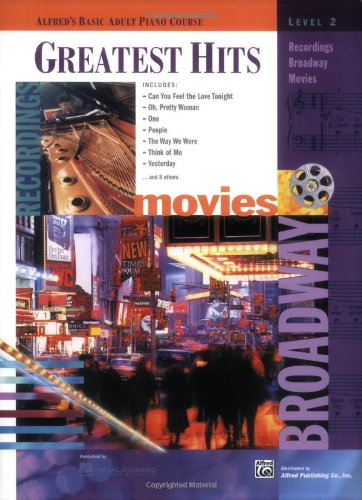 Alfred's Basic Adult Piano Course Greatest Hits, Bk 2   1999 edition cover