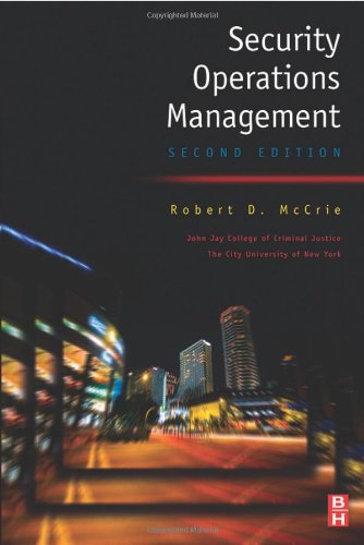 Security Operations Management  2nd 2007 9780750678827 Front Cover