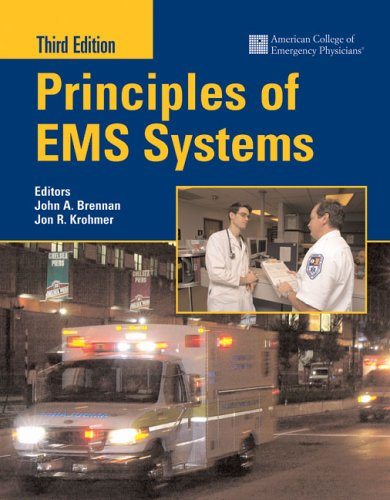 Principles of EMS Systems  3rd 2006 (Revised) edition cover