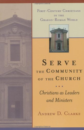 Serve the Community of the Church Christians as Leaders and Ministers  2000 edition cover