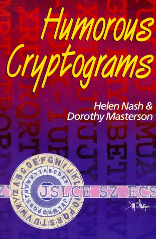 Humorous Cryptograms  N/A 9780806939827 Front Cover
