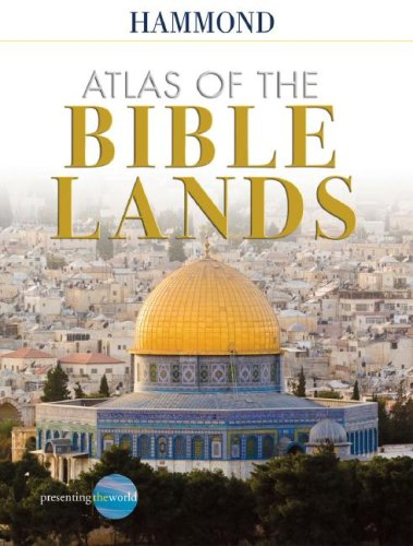 Atlas of the Bible Lands 4th 2008 (Revised) edition cover