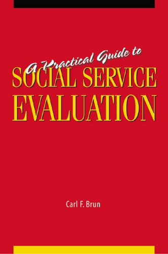 Practical Guide to Social Service Evaluation  2005 edition cover