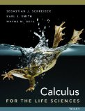 Calculus for the Life Sciences   2014 edition cover