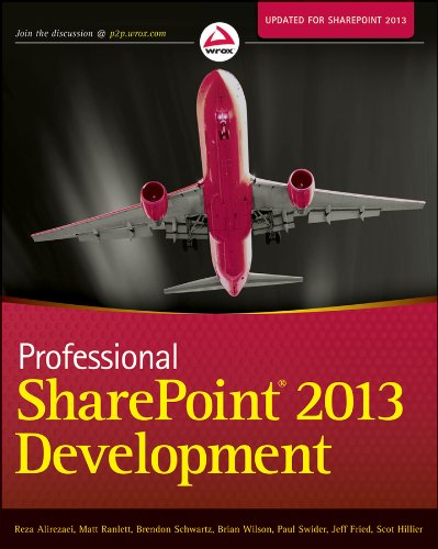 Professional SharePoint 2013 Development   2013 edition cover