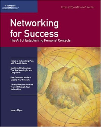 Networking for Success The Art of Establishing Personal Contacts  2003 edition cover