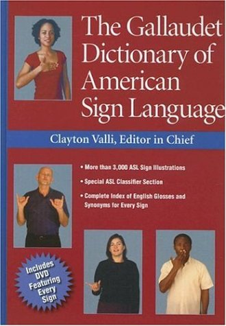 Gallaudet Dictionary of American Sign Language   2005 edition cover