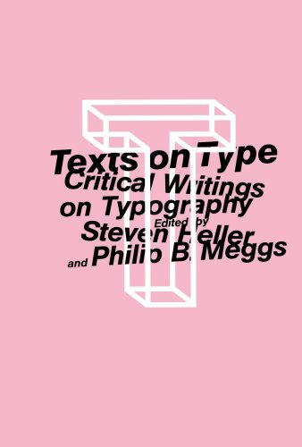 Texts on Type Critical Writings on Typography  2001 edition cover