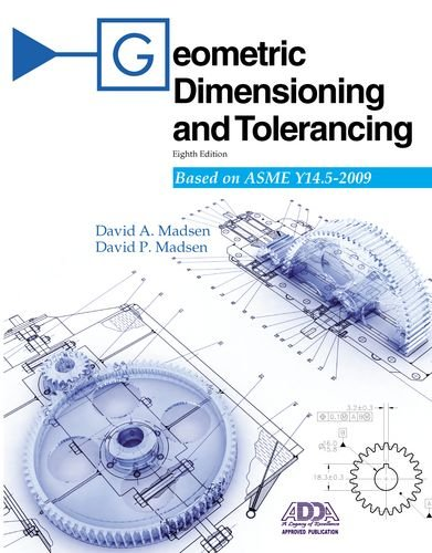 Geometric Dimensioning and Tolerancing  8th 2011 edition cover