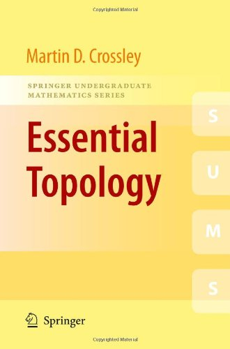 Essential Topology   2005 9781852337827 Front Cover