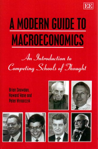 Modern Guide to Macroeconomics An Introduction to Competing Schools of Thought  1995 edition cover