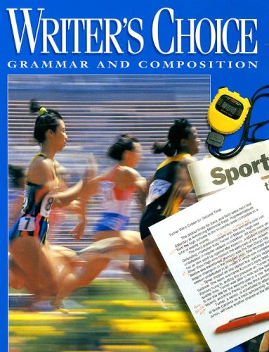 Writer's Choice Grammar and Composition  2nd 1996 (Student Manual, Study Guide, etc.) 9780026358828 Front Cover