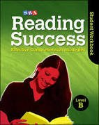 Reading Success Level B Student Workbook   2008 9780076184828 Front Cover