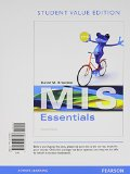 MIS Essentials, Student Value Edition  4th 2015 edition cover