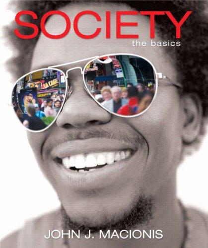 Society The Basics 10th 2009 edition cover