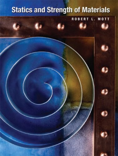Statics and Strength of Materials   2010 edition cover