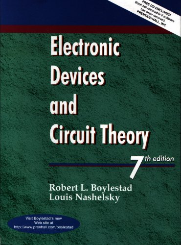 Electronic Devices and Circuit Theory  7th 1999 9780137692828 Front Cover