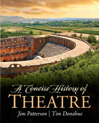Concise History of Theatre   2014 edition cover