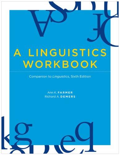 Linguistics Companion to Linguistics 6th 2010 (Workbook) edition cover