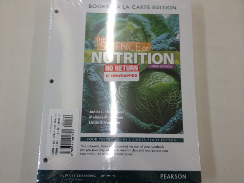 Science of Nutrition, the, Books a la Carte Plus MasteringNutrition with EText -- Access Card Package  3rd 2014 edition cover