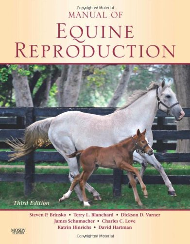 Manual of Equine Reproduction  3rd 2011 edition cover