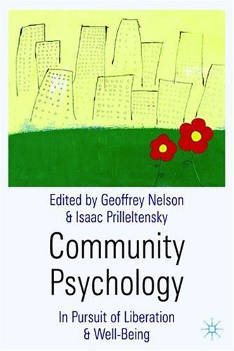 Community Psychology In Pursuit of Liberation and Well-Being  2004 9780333922828 Front Cover