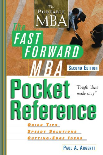 Fast Forward MBA Pocket Reference  2nd 2002 (Revised) edition cover