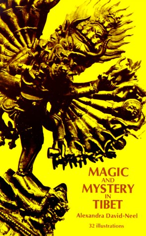 Magic and Mystery in Tibet  Unabridged edition cover