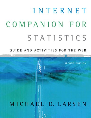 Internet Companion for Statistics Guide and Activities for the Web 2nd 2007 (Revised) 9780495110828 Front Cover