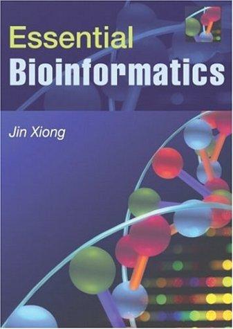 Essential Bioinformatics   2006 edition cover