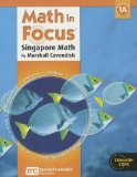 Math in Focus: Singapore Math Student Edition, Book a Grade 1 2013 N/A 9780547875828 Front Cover