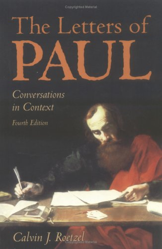 Letters of Paul Conversations in Context 4th 1998 edition cover