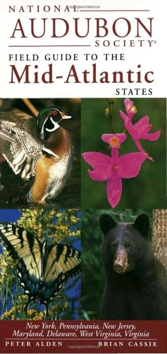 National Audubon Society Regional Guide to the Mid-Atlantic States   1999 edition cover