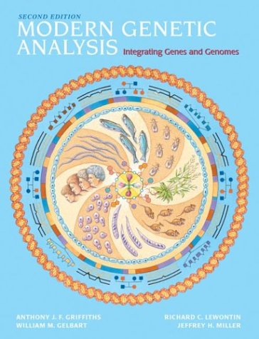 Modern Genetic Analysis Integrating Genes and Genomes 2nd 2002 edition cover