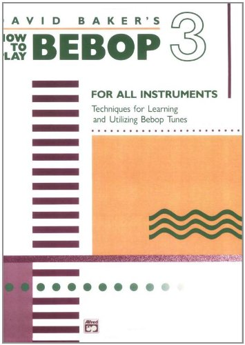 How to Play Bebop, Vol 3   1988 edition cover