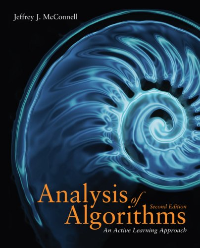 Analysis of Algorithms An Active Learning Approach 2nd 2008 (Revised) edition cover