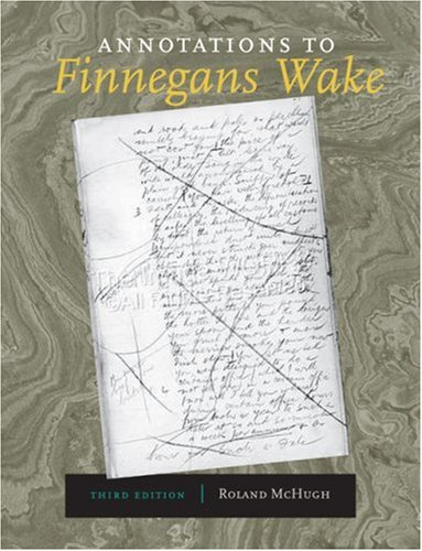 Annotations to Finnegans Wake  3rd 2006 edition cover