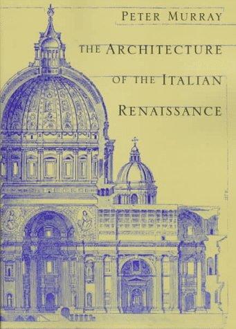 Architecture of the Italian Renaissance   1997 edition cover