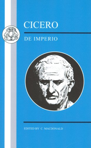 Cicero De Imperio N/A edition cover